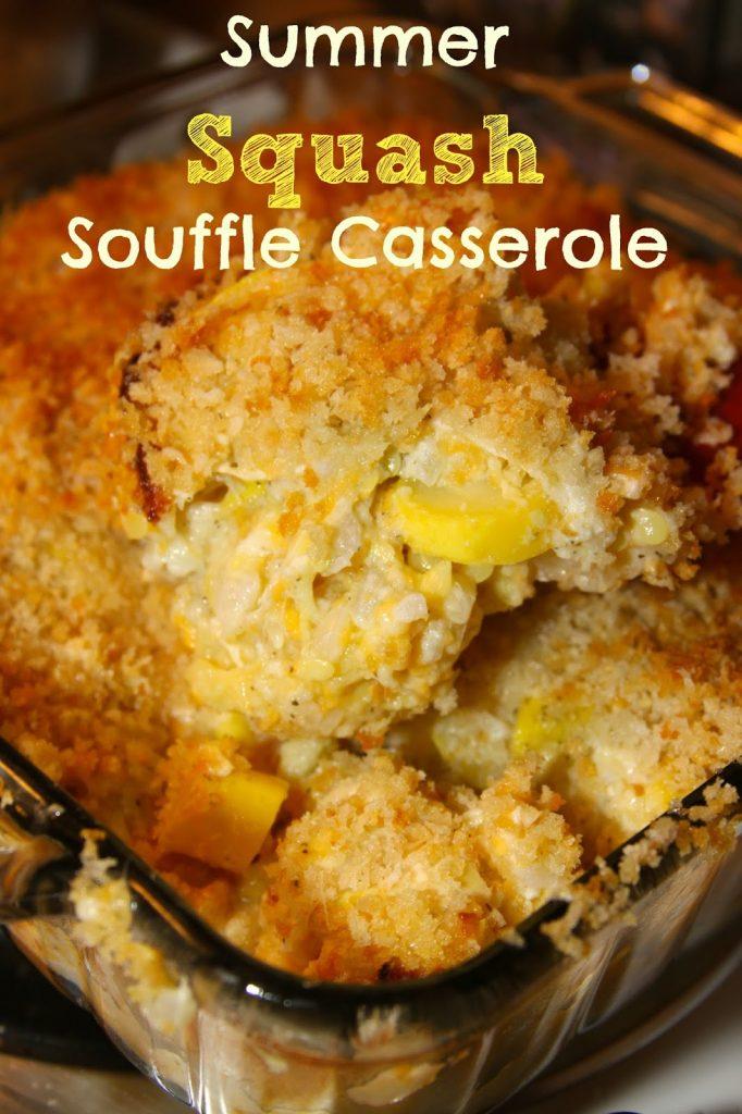 Creamy Yellow Squash Casserole