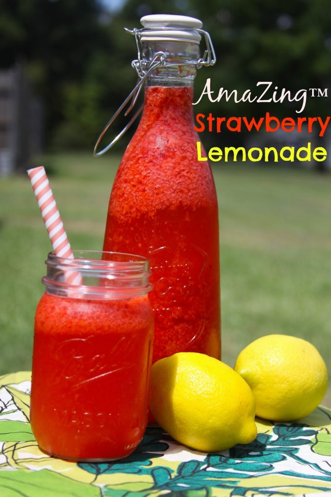 Emeril Lagasse's Strawberry Lemonade