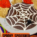 Spooky Spiderweb Black Bean Dip | Wendy's Halloween Coupon Books