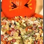 Upchuckin' Pumpkin Loaded Pasta Salad
