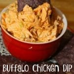 Perfect Party Buffalo Chicken Dip and Sandwich Spread