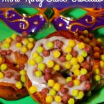 Mardi Gras Mini King Cake Biscuits