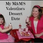 My M&M'S Gift Ideas and Valentine's Dessert Date at Home