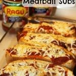 Oven Baked Meatball Subs