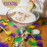 King Cake Cocktail for Fat Tuesday