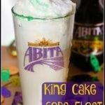 Abita King Cake Soda Float