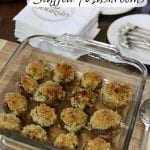 Baked Cheese Stuffed Mushrooms