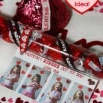 Valentine's Kiss DIY Gifts and Printable Cards