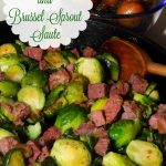 St Patty's Corned Beef and Brussels Sprout Saute