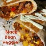 Gardein Black Bean Veggie Burritos with Cilantro Rice
