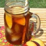 Refreshing Peach Iced Tea