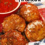 Mozzarella Stuffed Arancini aka Italian Rice Balls