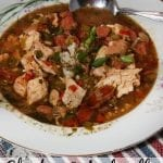 Chicken & Andouille Sausage Gumbo from L'Auberge Baton Rouge