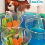 Puppy Party Snacks: Ruff-age Veggie Cups and Water Bowl Jello