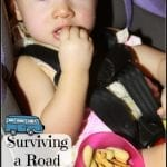 Toddler Snack Mix and Surviving a Road Trip with Toddlers