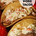 Southern Style Barbecue Pulled Pork Tacos
