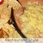 Restaurant Style Cheesy Refried Beans