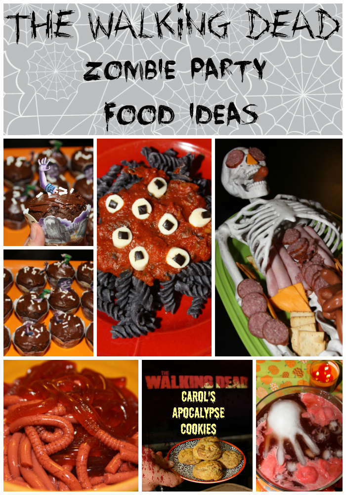 The Walking Dead Zombie Viewing Party Food Ideas For The Love Of