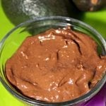 Chocolate Avocado Pudding and Messy Fun!