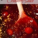 Mama's Holiday Cranberry Sauce
