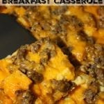 Overnight Bread Pudding Breakfast Casserole