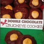 Double Chocolate Buckeye Cookies for the Food Blogger Love Cookie Exchange