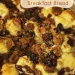 Pecan and Cranberry Pull Apart Breakfast Bread