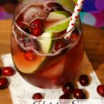 Holiday Sangria Punch Mocktail