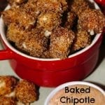 Baked Chipotle Mozzarella Cheese Bites