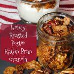 Honey Roasted Post® Raisin Bran Granola