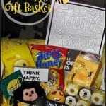 Don't Worry Bee Happy Gift Basket