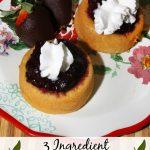 3 Ingredient Cherry Shortcakes