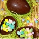 Surprise Candy Filled DIY Chocolate Easter Eggs