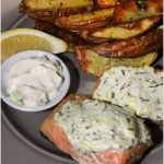 Lemon Chive Salmon with Dill Potatoes | Green Chef Review
