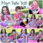 Mayo Taste Test for April Fool's Day!