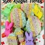 Peeps Easter Egg Rice Krispie Treats