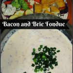 The Melting Pot's Bacon and Brie Fondue