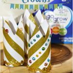 DIY Upcycled Princess Crowns and New Go & Grow by Similac Pouches
