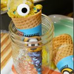 Easy & Healthy Minion Banana Ice Cream