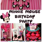 Ava's Minnie Mouse Birthday Party