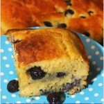 Blueberry Honey Cornbread #SummerDessertWeek
