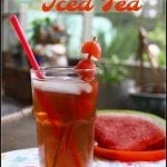 Summertime Watermelon Iced Tea