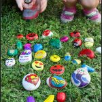 DIY Painted Rocks for Kids by Kids