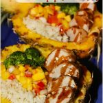 30 Minute Meal: Tropical Teriyaki Pineapple Pork