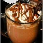Peanut Butter Hot Cocoa #Choctoberfest