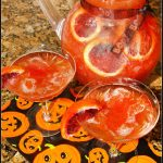 Blood Orange Spooky Slush Punch