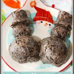 Oreo Marshmallow Snowman Treats