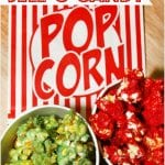 Colorful Jell-O Candy Popcorn