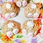 Bunny Butt Rice Krispies Treats #EasterSweetsWeek
