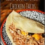 Slow Cooker Salsa Chicken Tacos + Vacuvita Review